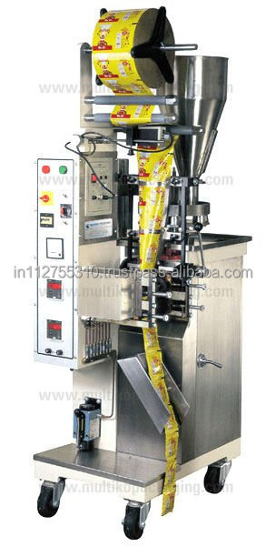 Automatic vertical form fill and seal machine with volumetric cup filler