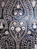 Traditionalware Ehtincware embroidery lace fabric design India embroidered design styles