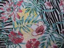 Printed india cotton voile high quality fabirc / digital printed design cotton fabric