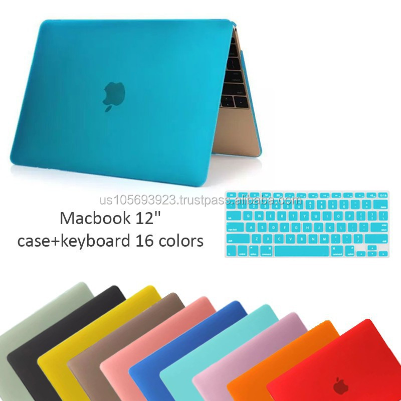 "Ultra Slim Matte Hard Case for Macbook 12"" With 16 Colors With Factory Price"