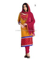 Dress material comes in variety of clothing types