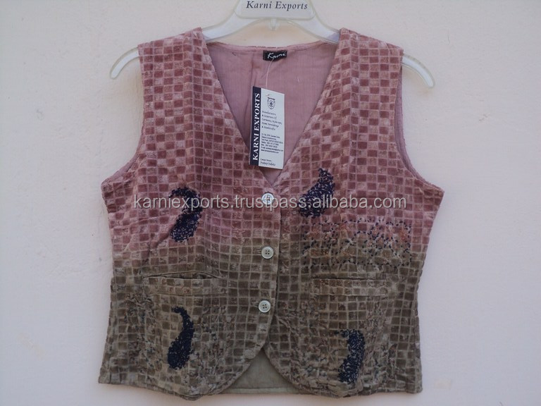 Cute baby vevlet emelished jacket / High -quality kids wear designer design printed jackets wear