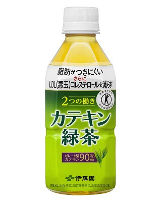 Delicious Catechin green tea as drink juice for healthy diet