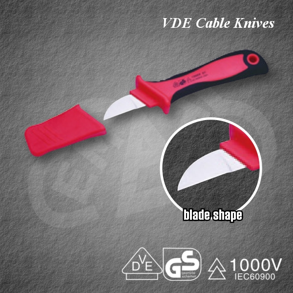 Safety VDE Cable Knives PZCK-4 Insulated tool