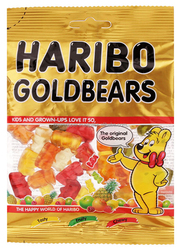 HARIBO GOLDBEARS JELLY CANDY PACK 80G