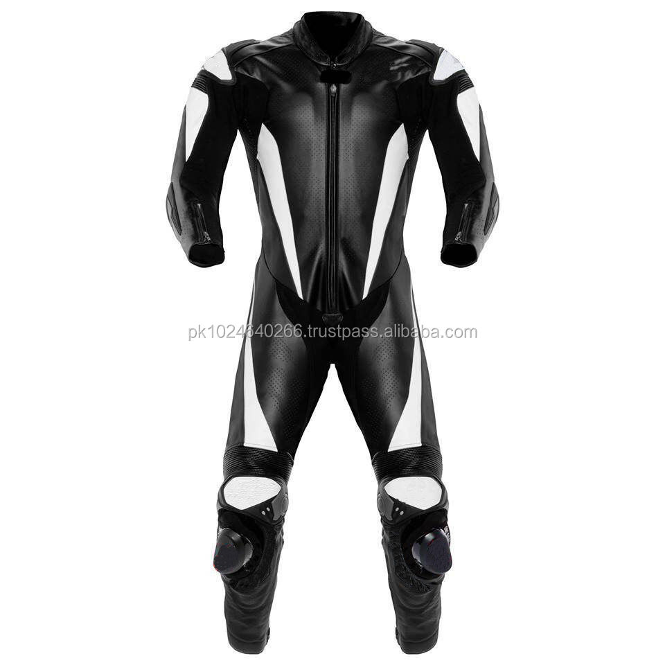 MOTORBIKE/MOTORCYCLE RACING LEATHER SUIT CE APPROVED FULL PROTECTION