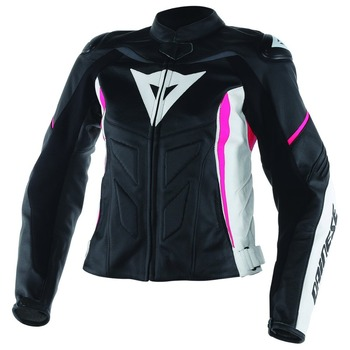 Women Avro D1 Leather Motorcycle Jacket