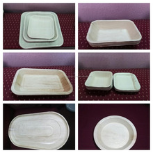 Less Weight and More Strong Disposable Areca Palm Leaf Plates supplier from India