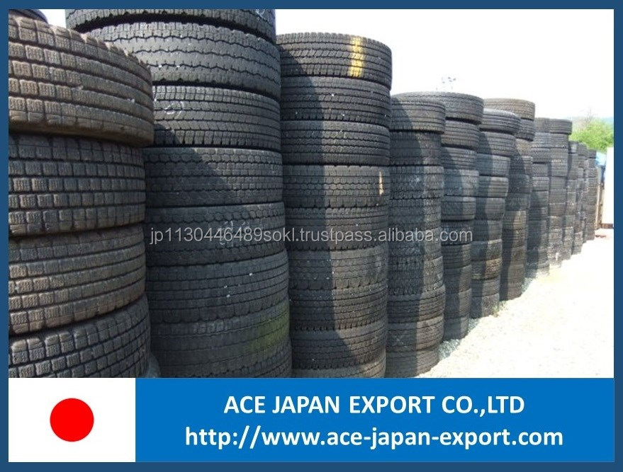 Japanese high quality secondhand scrap tire for light truck