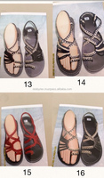 Thailand knitting rope handmade Hill Tribe Hmong Karen shoes/ Sandals