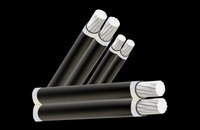 ALUMINUM CONDUCTOR PVC INSULATED LOW VOLTAGE AERIAL BUNDLED CABLE XLPE ABC CABLE