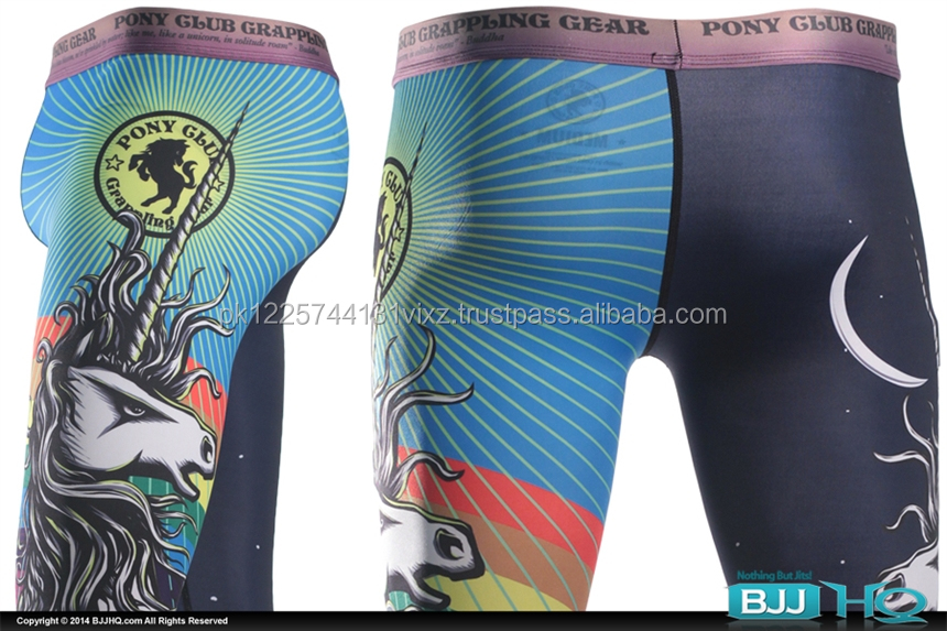 Sublimation dye MMA Spats , Grappling, wrestling, bodybuilding Tights