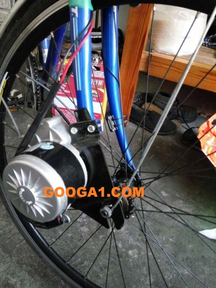 GoGoA1 250W electric bicycle conversion kit with tube battery