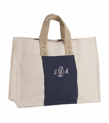 Monogram Canvas City Tote Bag