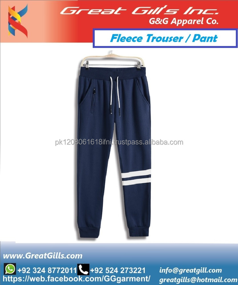 New Design Fashion fleece trouser for men and women / gym wear / gym cloths