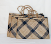 handicrafted eco-friendly beach bags.