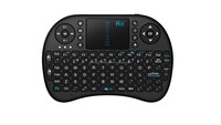 mini Black Wireless Keyboard 2.4G with Touchpad