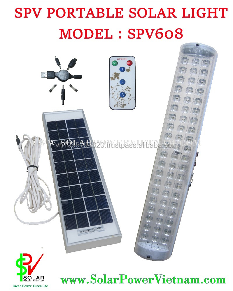 Solar Home Lighting System ( Solar Viet Nam SPV608)