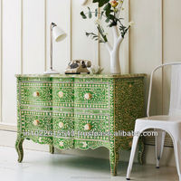 BONE INLAY CHEST OF DRAWERS, CHEST OF DRAWERS, Bone Inlay Furniture