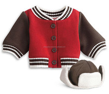 custom mens baby letterman varsity jacket