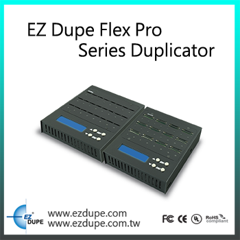 EZ Dupe 1 to 1 - 11 targets port CD DVD Duplicator - Tower Duplicator