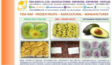 FROZEN FRUIT ORGANIC AVOCADO FRUITS TIDA KIM MANUFACTURER DRAGON VIETNAM IQF MANGOES RAMBUTAN PASSION COCONUT PUREE