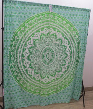 Mandala Curtains Jade feature wall Mandala Tapestry Screen Cafe Curtain