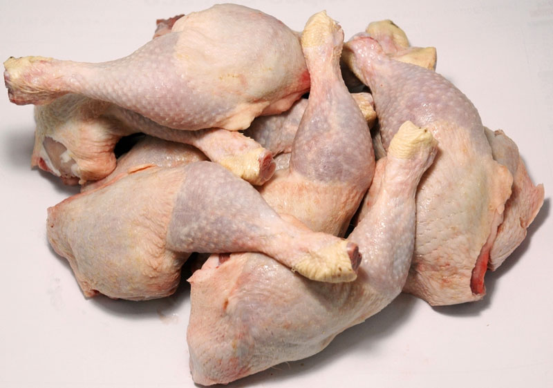 Halal Frozen Whole Chicken Thighs / Feet / Paws / Drumsticks