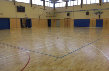Hevea Rubberwood Sport Flooring