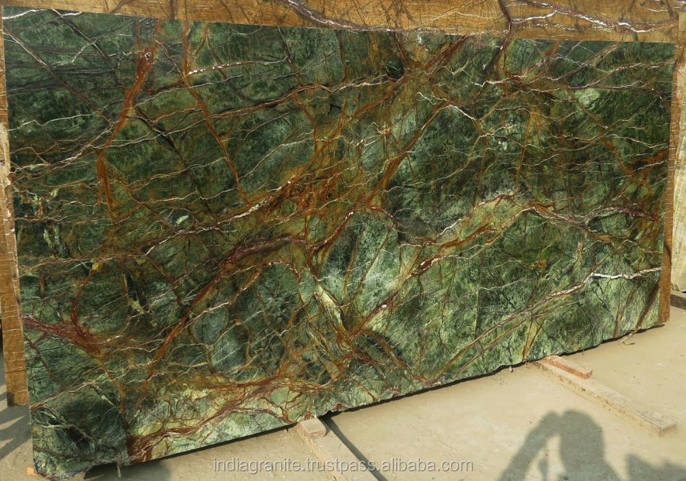 Green Marble Slab : List manufacturers of rainforest green marble slab buy