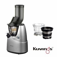 Kuvings Whole Slow Juicer B6000S Silber inkl. Eiscreme & Smoothies Set