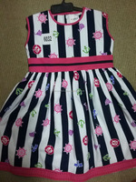 Stripped Girls frock high quality