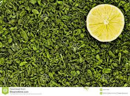 GREEN LEMON TEA