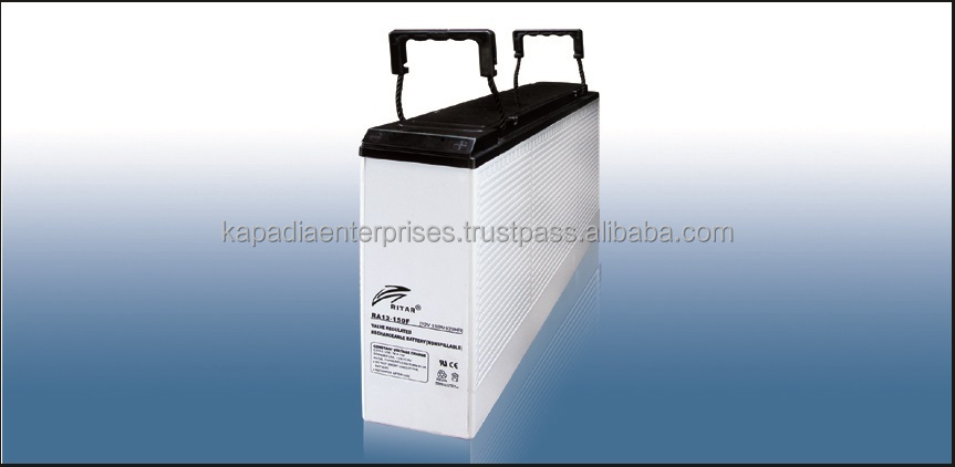 12V 150Ah Front Terminal Gel Deep Cycle Battery