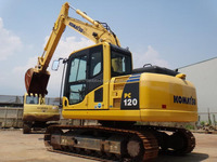 used komatsu PC120-8 original from japan hydraulic cheap excavator