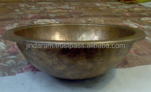 Vintage Copper Wash Basin