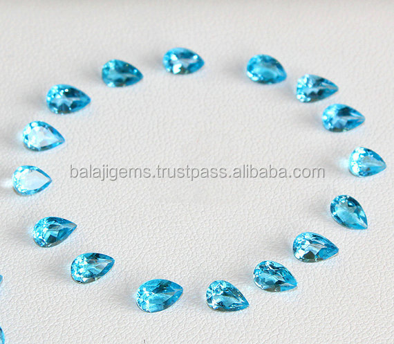 Wholesale Top Quality Natural Sky Blue Topaz 11x14mm Oval Cut Loose Gemstone
