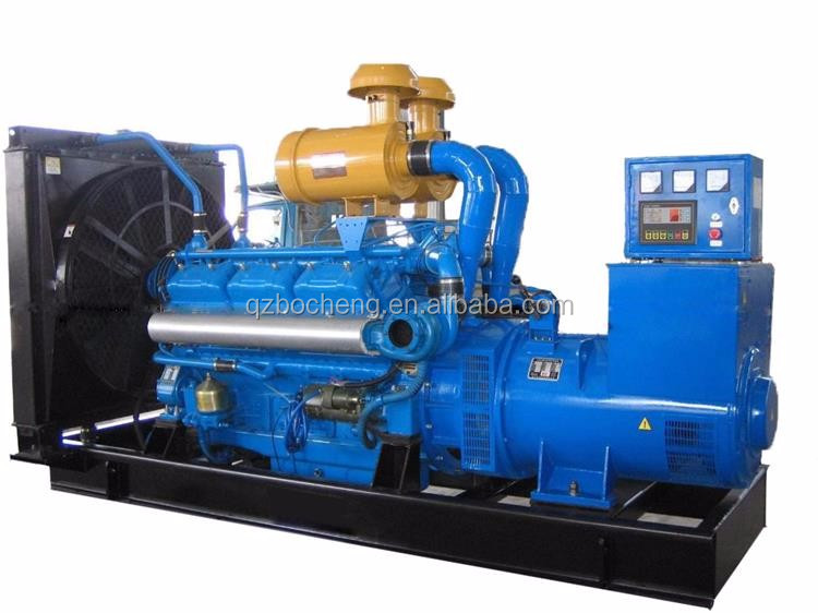 Electric power start 400kw / 500kva diesel engine generator price