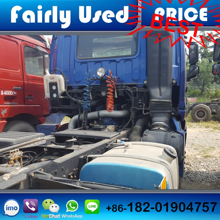 Low Price 6x4 Left Hand Drive Manual Diesel Engine Used Foton ETX Tractor Truck Head