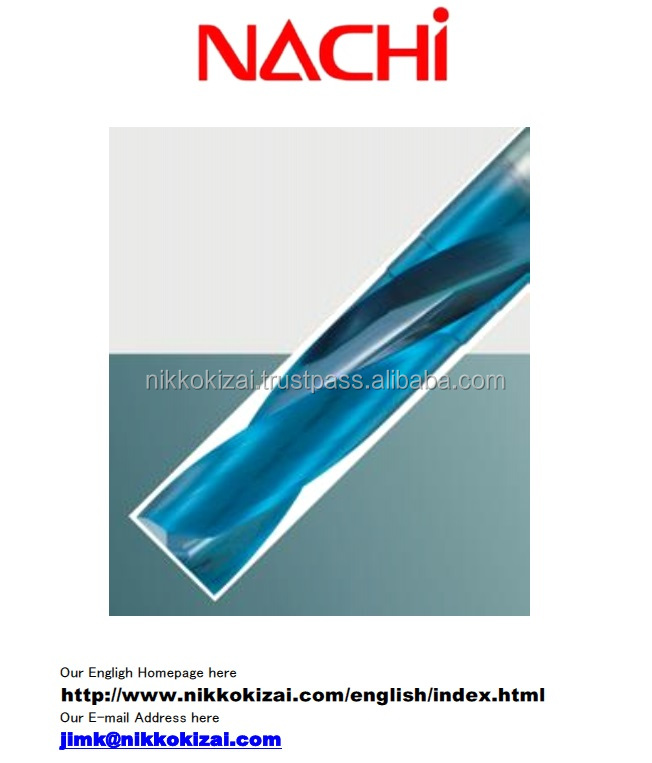 High precision made in japan carbide drills with oil hole for Nachi for drilling cooler box at good price on alibaba europe