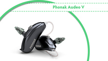 phonak RIC with Tinnitus Masker Powerful Top Level Hearing