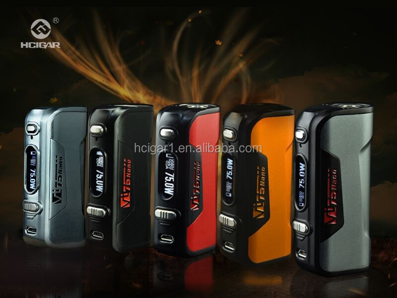Hot selling VW/TC e cigarette 250w box mod vape 250w mod DNA 250 chip Hcigar VT250