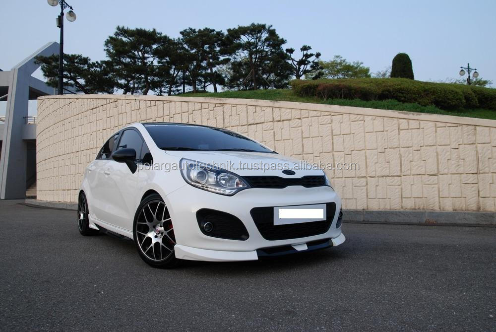 KIA Rio / pride 2012 hatchback ABS car bodykit