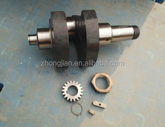crankshaft manufacture YQL diesel engine parts ZS1115 crankshaft