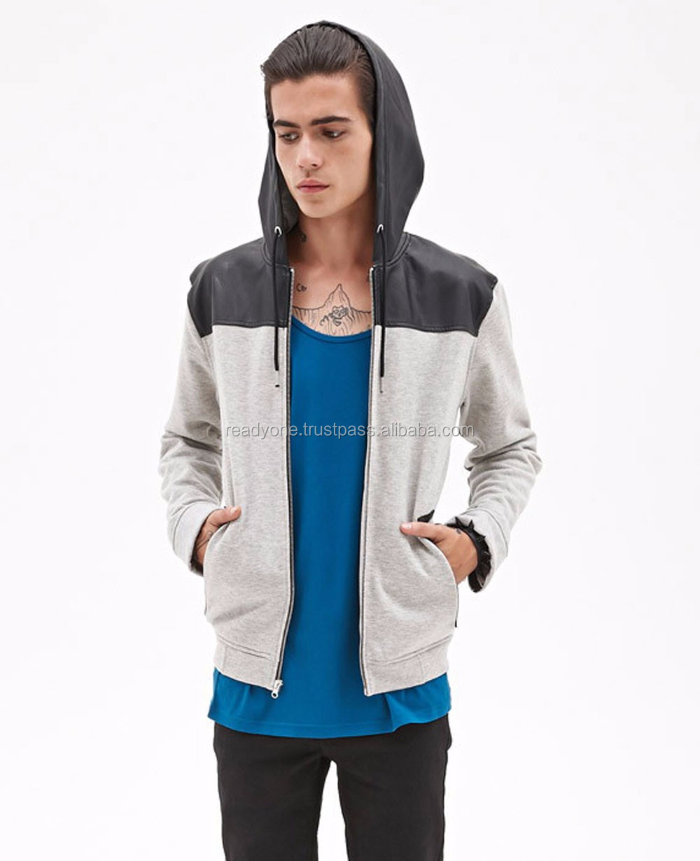 Zipper up Hoodies,Custom Blank Hoodies,Wholesale Hoodies Men, mobile pocket & thumb hole hoodie