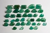 GEMSVILLAGE - 111 CARATS LOT WITH NATURAL GREEN EMERALD STONE