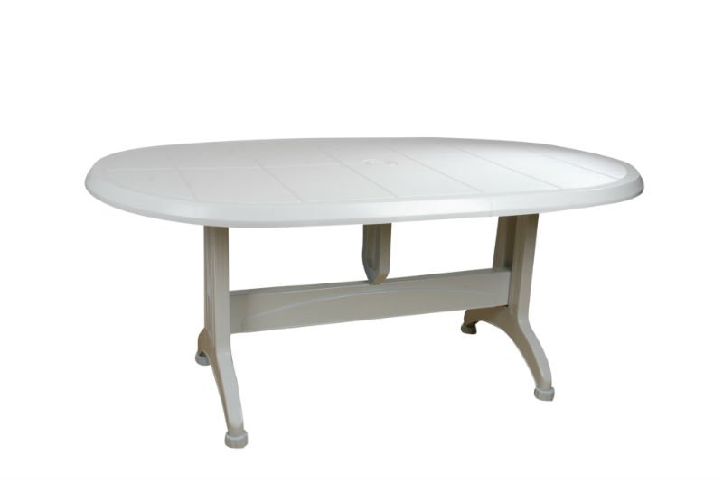 clear plastic dining table