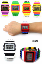 Touch Screen Digital Watches silicon watches new colors and model customized logo led watch