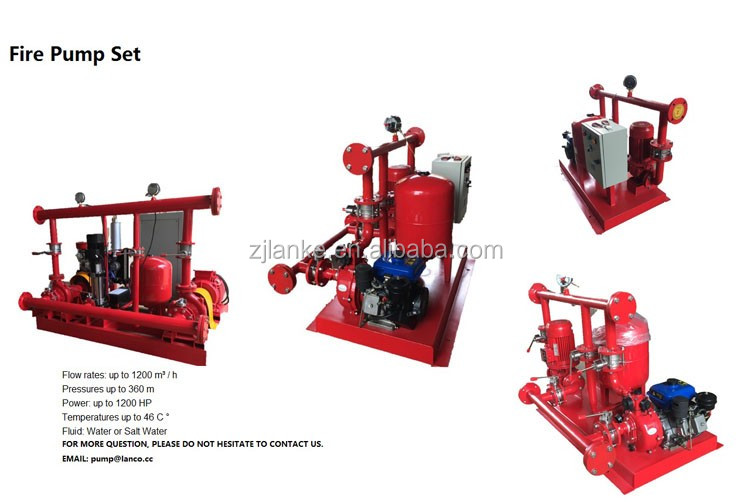 Lanco Fire Pump Set, Firefighting Pump For High Building