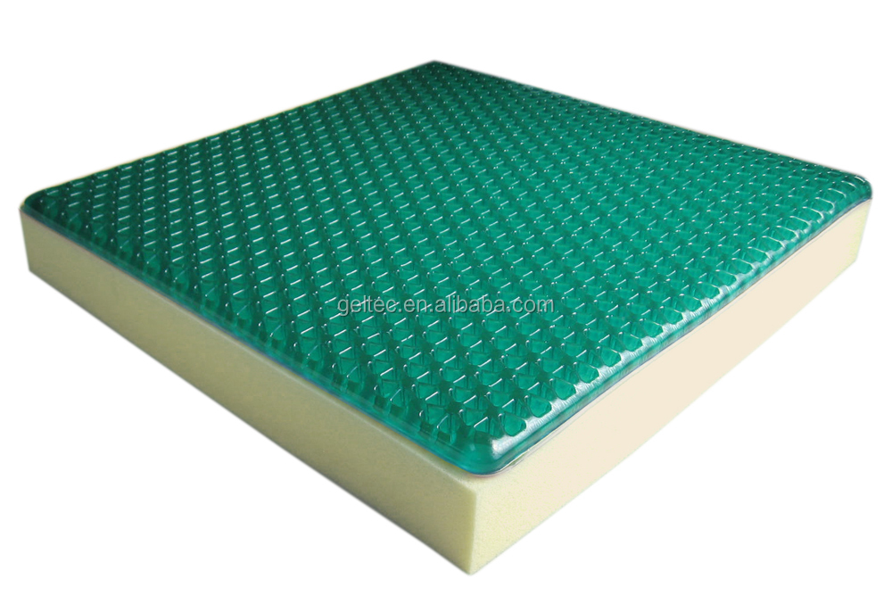 Pressure Relief Cushion memory foam gel seat cushion